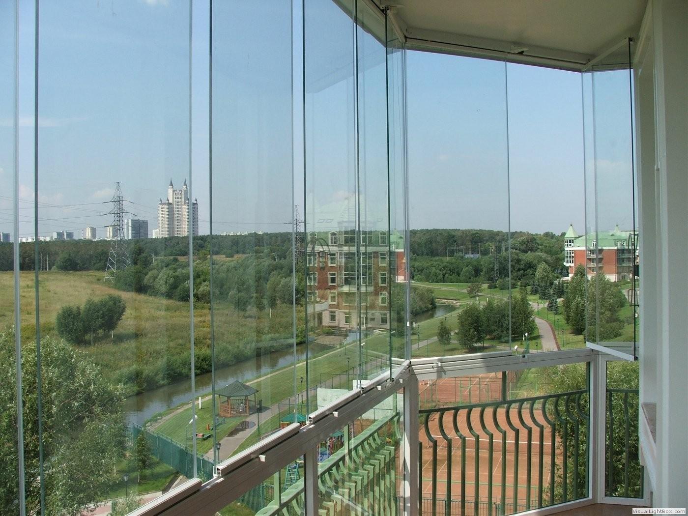 Панорамное остекление балконов и лоджий фото..